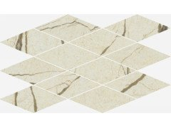 Charme Deluxe Cream River Mosaico Diamond Lux 28x48 Италон