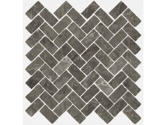 Room Stone Grey Mosaico Cross Cer 31.5x29.7 Италон